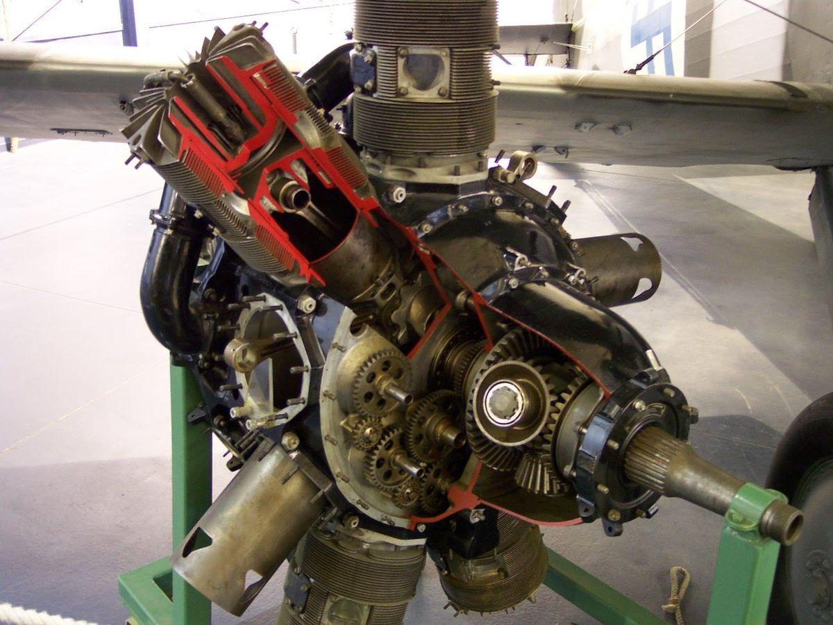 Px Bristol Perseus Sleeve Valve Radial Engine on Radial Aircraft Engine Diagram