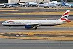 British Airways, G-MEDN, Airbus A321-231 (42595959390).jpg