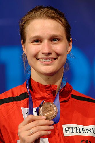 Britta Heidemann - At the 2013 World Fencing Championships