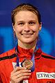 Britta Heidemann podium 2013 Fencing WCH EFS-IN t214721.jpg