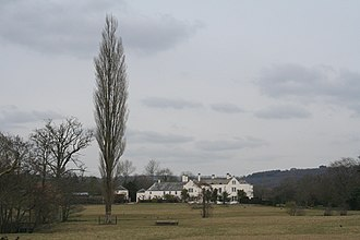 The Grange, Broadhembury - The Grange, Broadhembury, west front in 2006