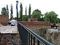 Brodnica - fundamenty i część piwnic dawnego zamku .Dzisiaj w piwnicach mieści się Muzeum - panoramio.jpg