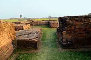 Bangarh - Ruins of the palace at Bangarh