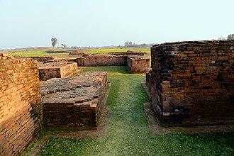 Bangarh - Ruins of the palace at Bangarh