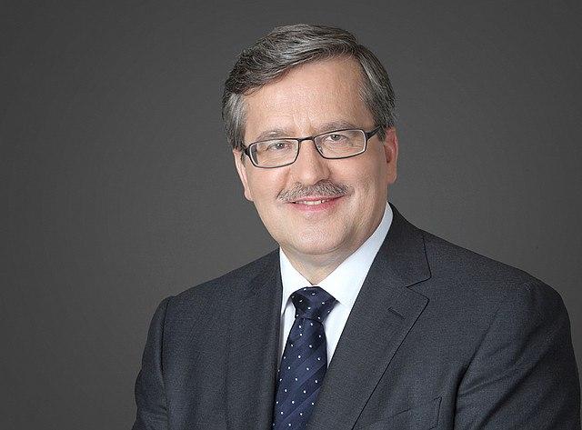 Bronisław Komorowski official photo