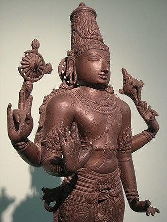 Sculpture in the Indian subcontinent - Bronze Vishnu