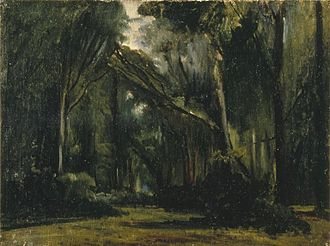 Forest of Compiègne - Paul Huet - Landscape in the Forest at Compiègne