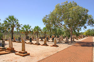 Japanese Australians - Japanese Cemetery of Broome.