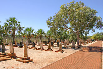 Broome, Western Australia - Headstones in the Japanese Cemetery