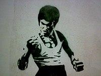 200px-Bruce_Lee_Stencil dans Cinéma