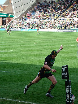 Northampton Saints - Bruce Reihana