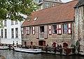 Bruges, house on the Dijver.JPG
