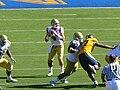 Bruins on offense at UCLA at Cal 2010-10-09 28.JPG