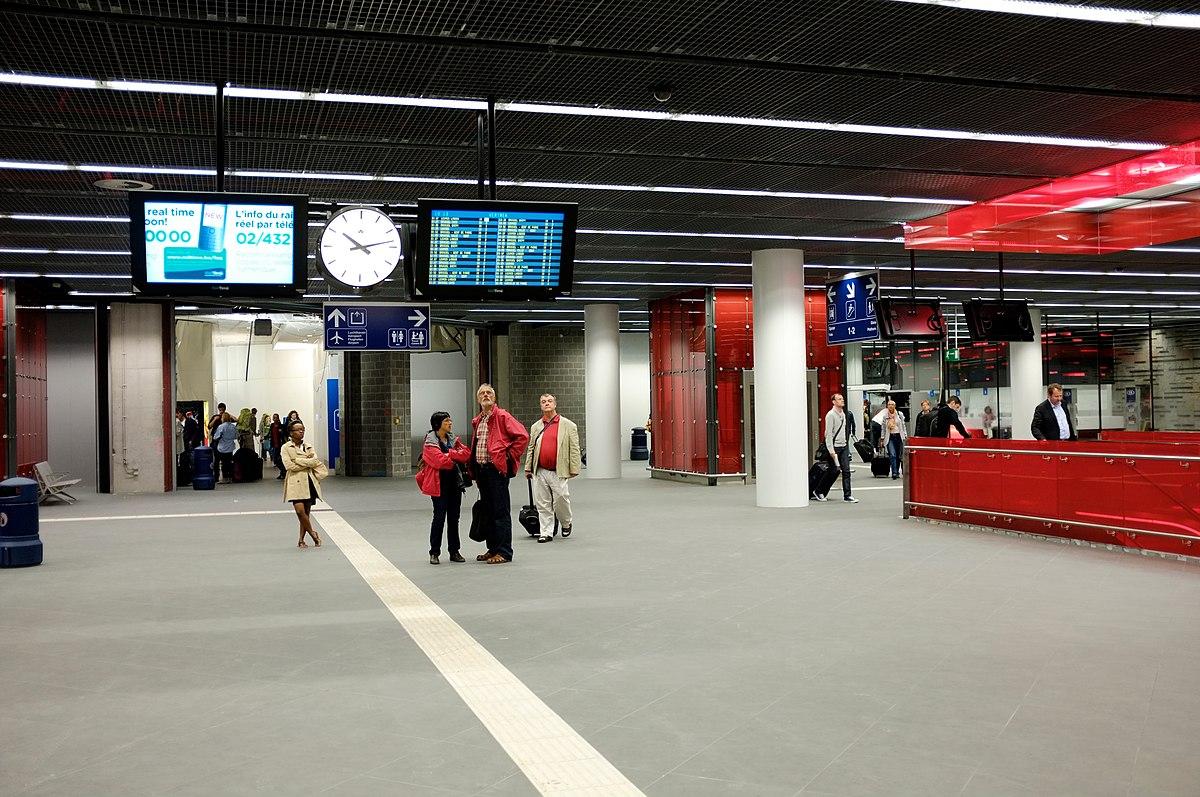 Station Brussels Airport Zaventem Wikipedia
