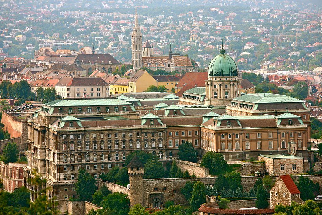 Chateau de Buda à Budapest en Hongrie - Photo de Alex Proimos