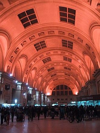 Constitución, Buenos Aires - Ceiling in Constitución station