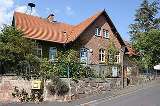 Community centre - Community centre in Marburg an der Lahn, Germany.
