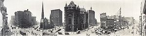 Buffalo Panorama 1911