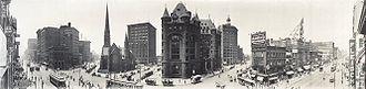 History of Buffalo, New York - Buffalo panorama circa 1911