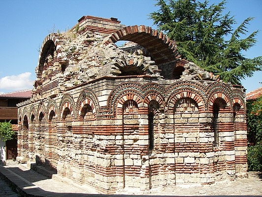 Church of the Holy Archangels Michael and Gabriel, Nesebar