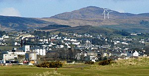 Buncrana - Buncrana from the south