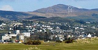 Buncrana Town in Ulster, Ireland