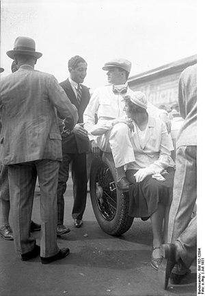 Rudolf Caracciola - Image: Bundesarchiv Bild 102 12094, Berlin, Avus, Internationales Autorennen
