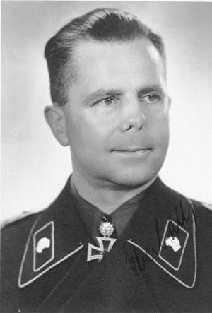 Heinrich Eberbach - Eberbach as an Oberst