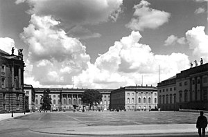 Humboldt University of Berlin - The University in 1938