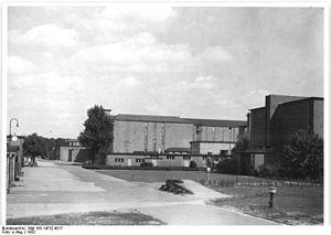 Babelsberg Studio - Babelsberg Studios in 1952.