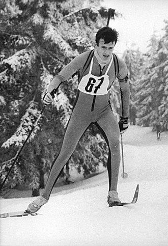 1981–82 Biathlon World Cup - Matthias Jacob at the sprint in Lahti.
