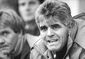 Frank Engel (football manager) - Frank Engel in 1990