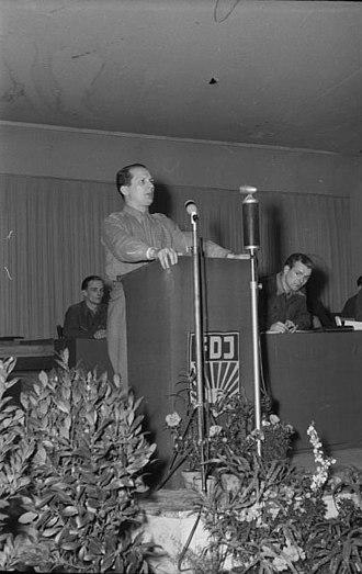 Erich Honecker - Honecker, founder of FDJ, 1946
