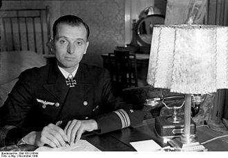 Otto Kretschmer - Otto Kretschmer in November 1940