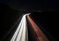 Bundesautobahn 81 near Weinsberg at night 20111228 1.jpg