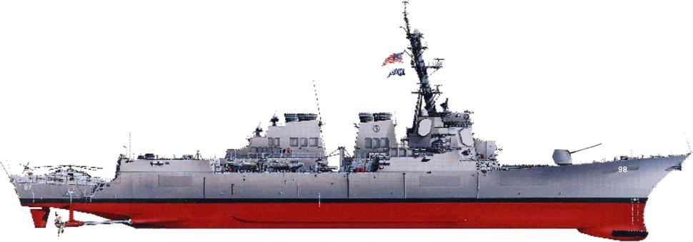 Burke class destroyer profile;wpe47485