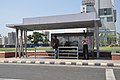 Bus Shelter - Major Arterial Road - Rajarhat - Kolkata 2017-03-31 1123.JPG