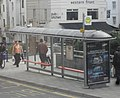 Bus Stop at Churchill Square, Brighton (February 2011).JPG