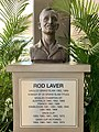 Bust of Rod Laver at Pat Rafter Arena, Queensland Tennis Centre 2020.jpg