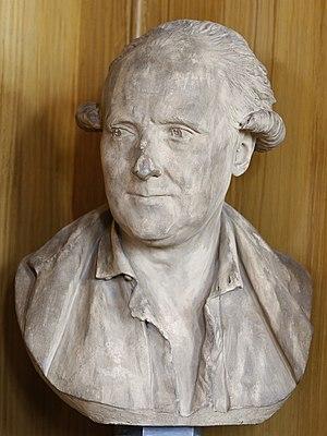 Charles Palissot de Montenoy - Buste de Ch. Palissot de Montenoy par Jean-Antoine Houdon (1779), conservé à la Bibliothèque Mazarine, à Paris.