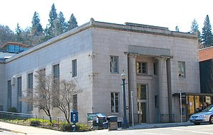 National Register of Historic Places listings in Hood River County, Oregon - Image: Butler Bank Hood River Oregon
