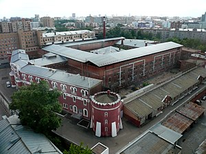 Prisons in Russia - Butyrka prison in Moscow.