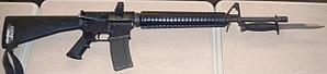 Colt Canada C7 - A Colt Canada C7A1 assault rifle