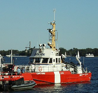 Fireboats of Toronto - Image: CCGS Cape Hurd moored in Toronto