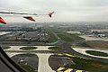 CDG AIRPORT FROM FLIGHT CDG-RAK A319 EASYJET (15014395000).jpg