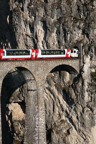 Landwasser Viaduct - Image: CH Landwasser 1