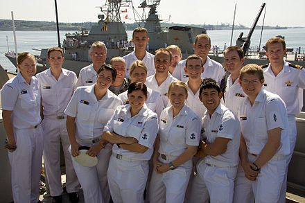 Royal Australian Navy sailors from HMAS Sydney during Operation Northern Trident 2009 CIS Department Halifax.jpg