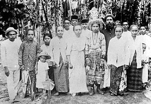 Gorontaloan people - A circumcision event of the Gorontalo people during the Dutch East Indies.