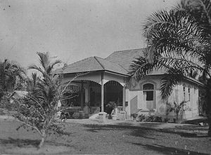 Pematangsiantar - Dutch house in Pematangsiantar (1923)