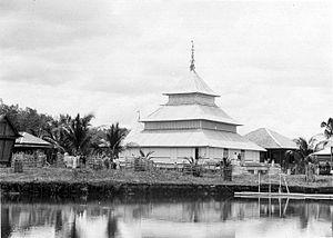 Ikhsaniyyah Mosque - Ikhsaniyyah Mosque, 1900-1939